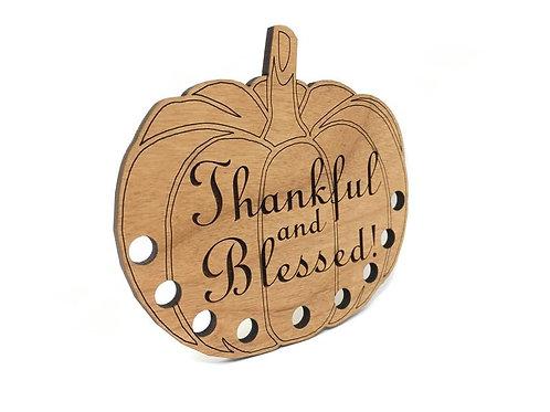Thankful & Blessed Thread Keep
