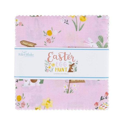 """Easter Egg Hunt 5"""" Stacker - by Natalia Juan Abello for Riley Blake Designs"""