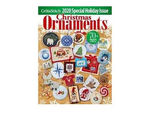 Just Cross Stitch 2020 Special Holiday Issue Christmas Ornaments