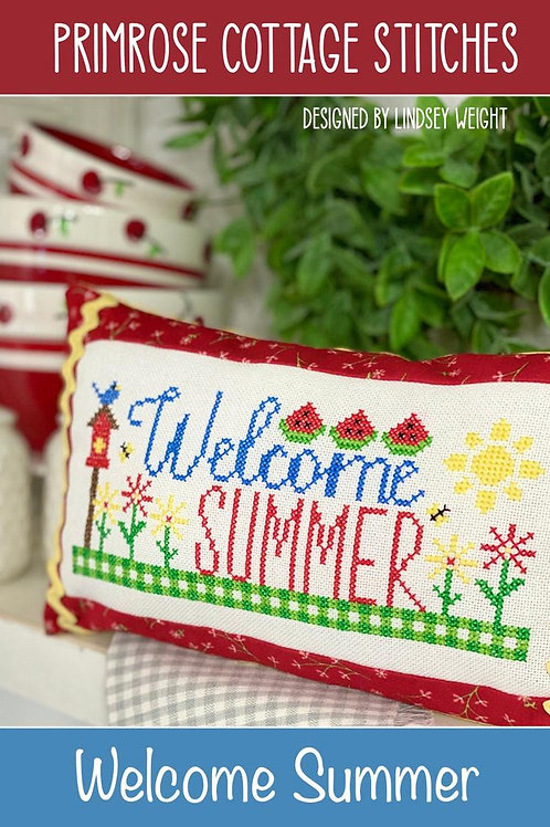 Welcome Summer by Primrose Cottage