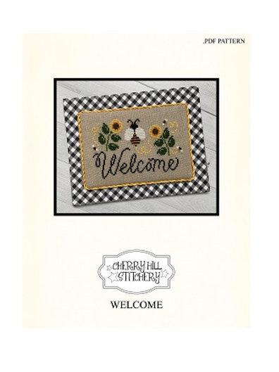 Welcome - by Cherry Hill Stitchery