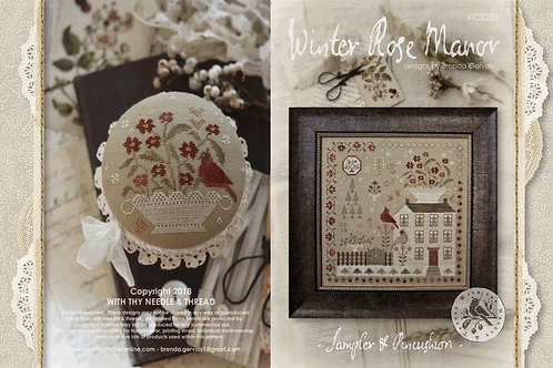 Winter Rose Manor by With Thy Needle& Thread