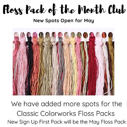 Floss Pack of the Month Club