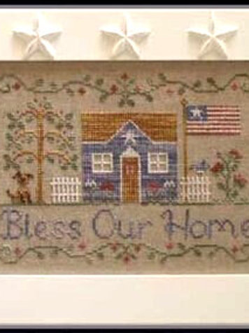 Bless Our Home - by Country Cottage Needleworks