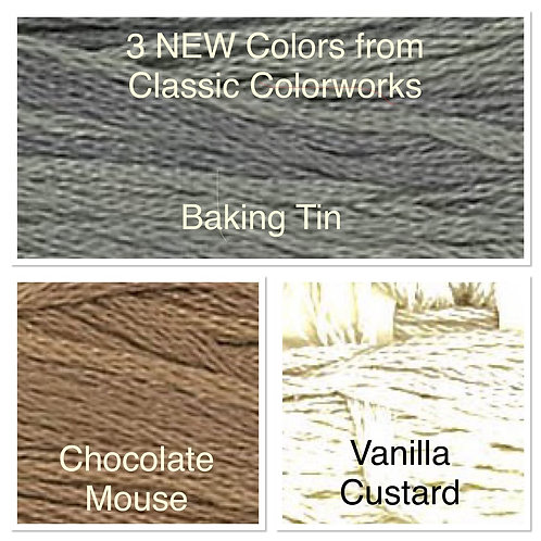 NEW - Classic Colorworks Floss - 3 Colors