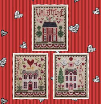 Valentine Trio House