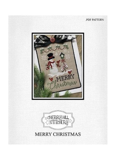 Merry Christmas by CherryHill Stitchery