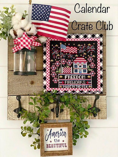Calendar Crate Monthly Series Club