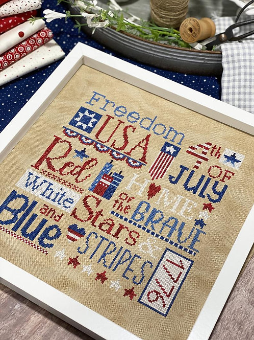 All American by Primrose Cottage Stitches