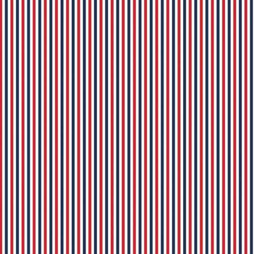 Patriotic - Red/White/Blue Strip - by Riley Blake Designs