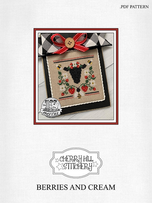 Berries and Cream - Cherry Hill Stitchery