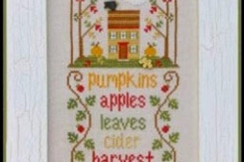 Autumn -Seasonal Celebrations -Country Cottage Needleworks