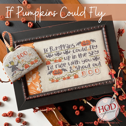 If Pumpkins Could Fly - by Hands On Design