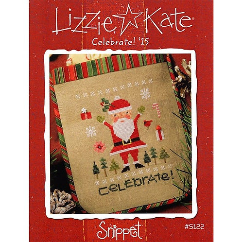 Celebrate '15 - Lizzie Kate - Cross Stitch Pattern