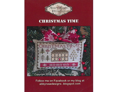 Christmas Time - Abby Rose Designs - Cross Stitch Pattern