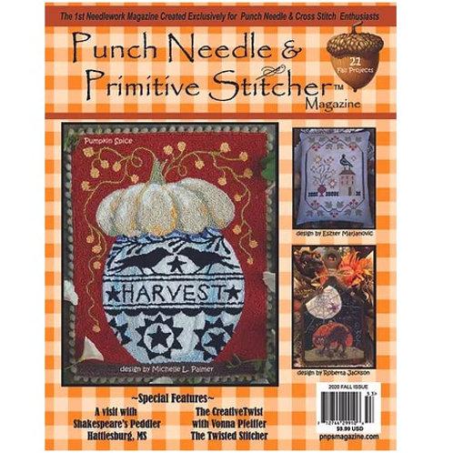 Punchneedle & Primitive Stitcher Magazine - Fall Issue