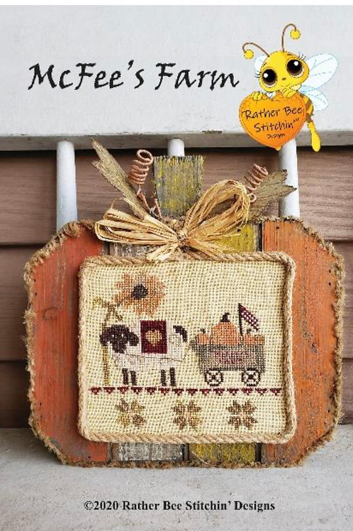 McFee's Farm - Rather Bee Stitchin' - Cross Stitch Pattern