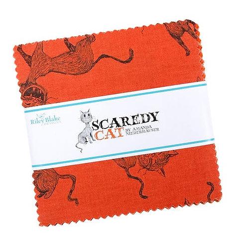"Scaredy Cat 5"" Stacker by Amanda Niederhauser for Riley Blake"