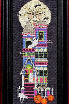Beware of Halloween - Bobbie G Designs - Halloween Cross Stitch