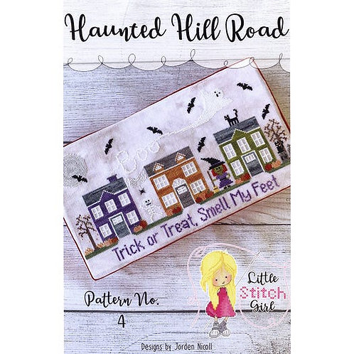 Haunted Hill Road - Trick or Treat, Smell My Feet - by Little Stitch Girl