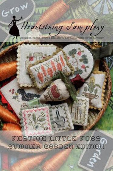 Festive Little Fobs 8 - Summer Garden Edition - Heartstring Samplery