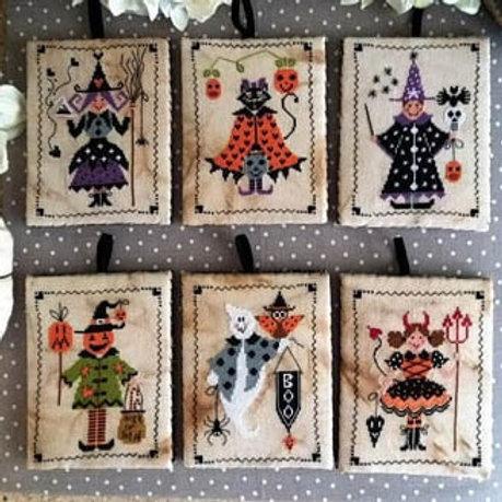 Sei Personaggi in Cerca Di Halloween (Halloween Pinkeeps)