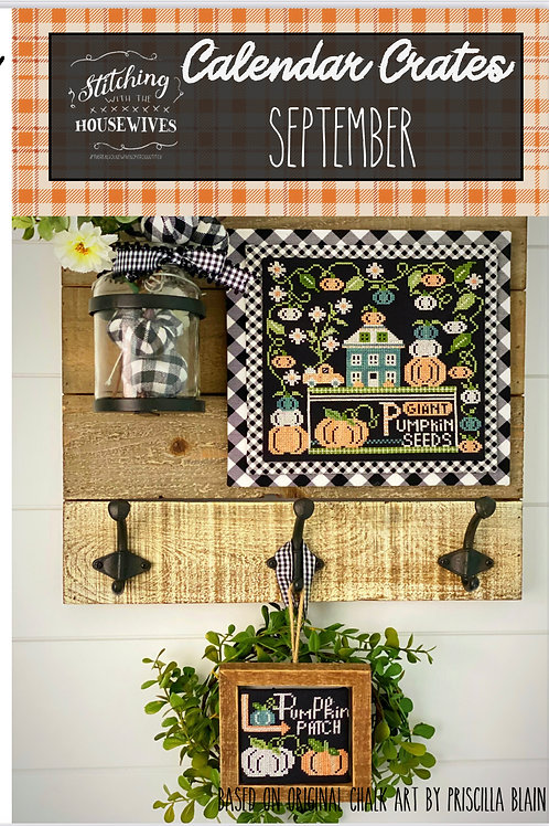 Calendar Crates - September - by Stitching With The Housewives