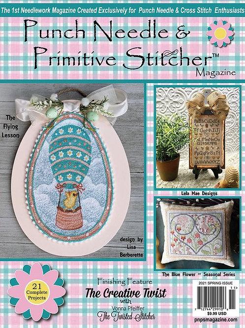 Punch Needle & Primitive Stitcher Magazine - Spring 2021