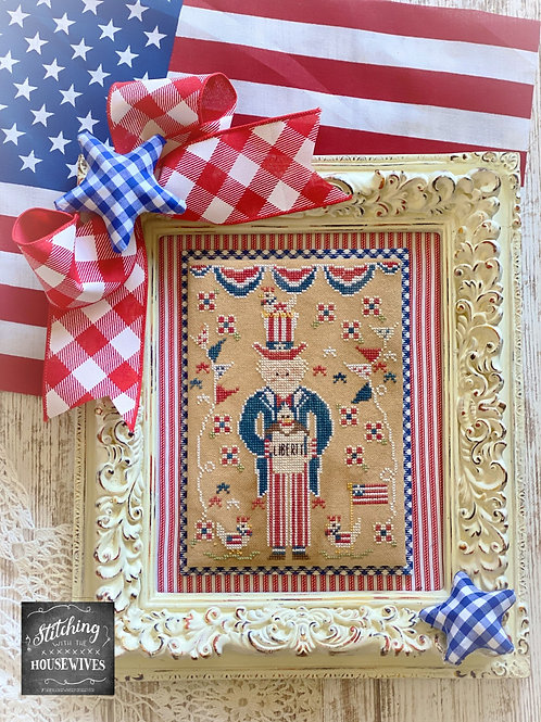 Sam and Liberty - Stitching With the Housewives