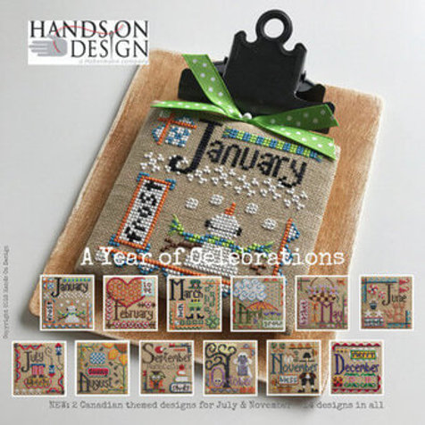 A Year of Celebrations - by Hands On Design - Cross Stitch Pattern
