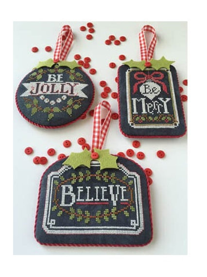 Chalkboard Ornaments - Christmas Collection Part 1 - by Hands On Design