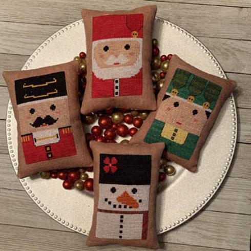 Santa & Company - by Needle Bling Designs