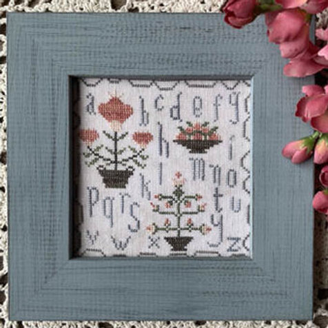 Motif Minis - One - From the Heart - Cross Stitch Pattern