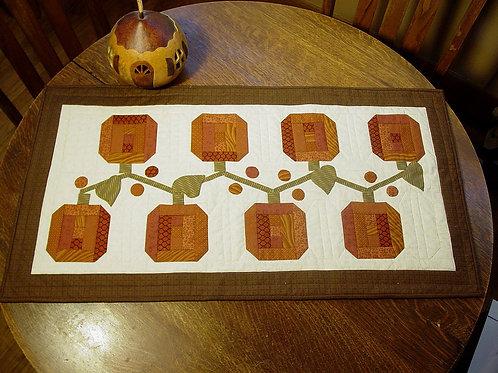 Pie Harvest -Table Runner Quilt Pattern