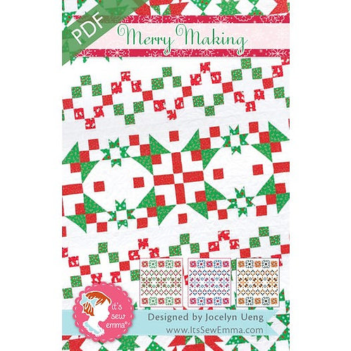 Merry Making Quilt Pattern It's Sew Emma #ISE-247