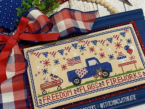 Patriotic Picnic - by Primrose Cottage Stitches