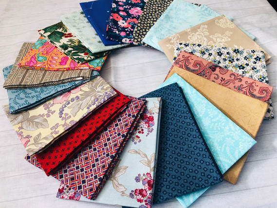 Blender Fabric Mix - Fat Quarter Bundle