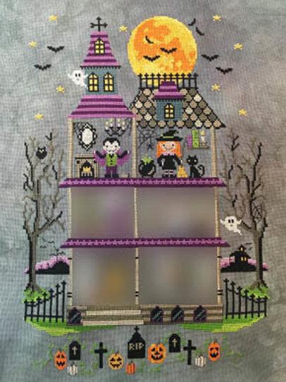 Haunted Mansion - Part 3 - Tiny Modernist - Cross Stitch Pattern