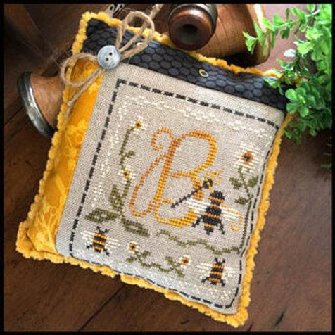 Stitching Bee - Cross Stitch Pattern - By Little House Needleworks