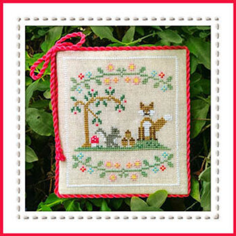 Forest Fox And Friends - Welcome To The Forest 6 by Country Cottage Needleworks