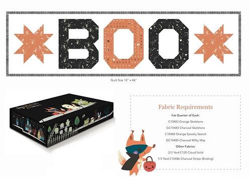 Boo Table Runner - Kit - by Jill Howarth for Riley Blake Designs