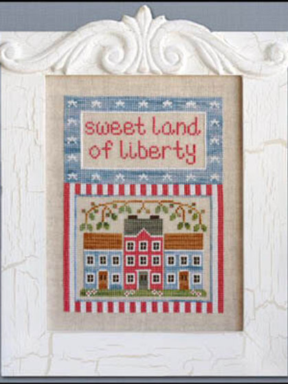 Land Of Liberty by Country Cottage Needleworks