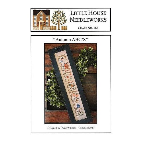 Autumn ABC's - Little House Needleworks - Cross Stitch Pattern