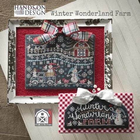 Winter Wonderland Farm by Hands On Design - Cross Stitch Pattern