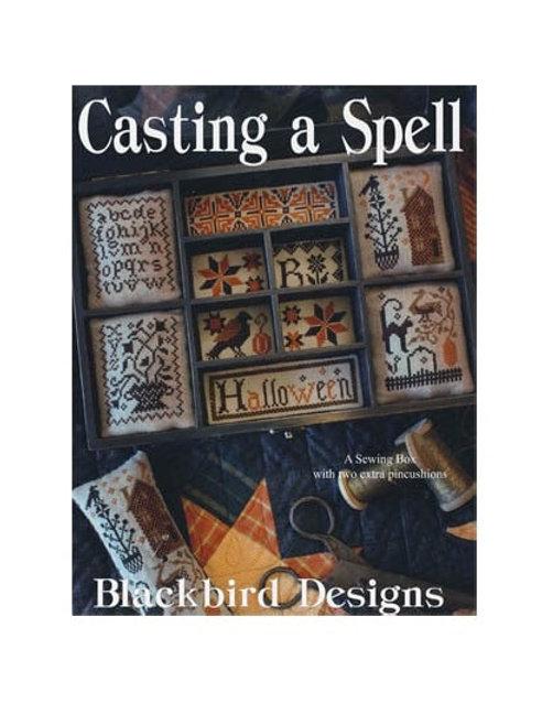 Casting A Spell - Blackbird Designs - Cross Stitch Patterns