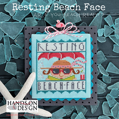 Resting Beach Face - by Hands on Design