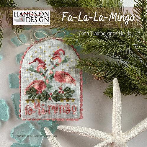 Fa-La-La-Mingo - Flamboyance Holiday - by Hands On Design