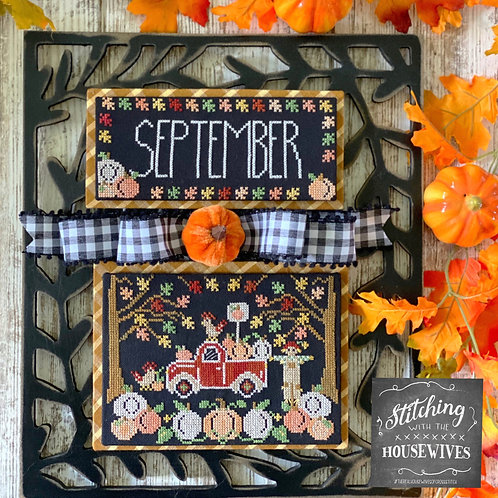 September - Truckin' Along Series - Stitching with the Housewives