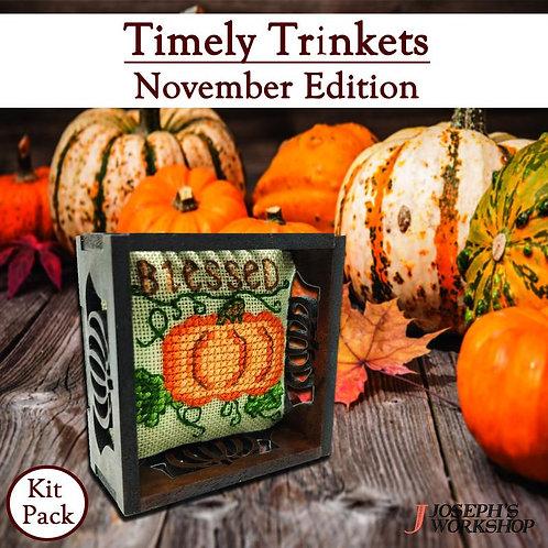 November Timely Trinkets - by Suzzanne Brakefield