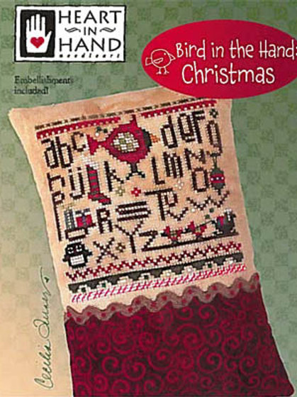 Bird In the Hand: Christmas - By Heart in Hand - Cross Stitch Pattern